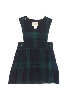 St Patricks Masterton School Pinafore Navy/Forest