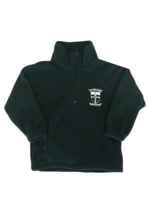 St Patricks Masterton Fleece Pullover Forest